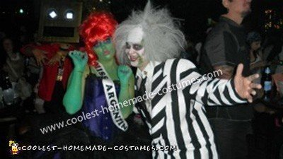 Coolest Miss Argentina and Beetlejuice Costumes