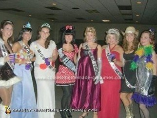 Homemade Miss USA Contestants Costumes