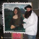 Homemade Mona Lisa and Leonardo Costume