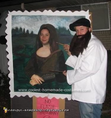 Coolest Mona Lisa and Leonardo Costume