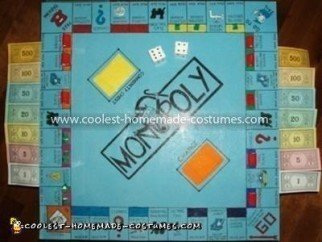 Coolest Monopoly Board Game Costume