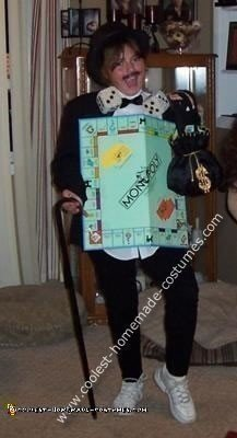 Homemade Monopoly Gameboard Costume