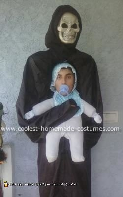 Coolest Monster Carrying Baby Costume