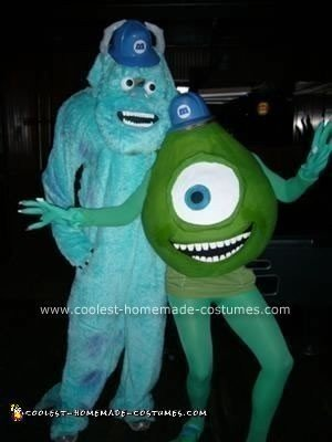 Homemade Monsters Inc. Costume