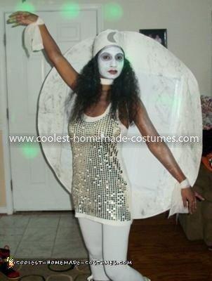 Homemade Moon Queen Costume