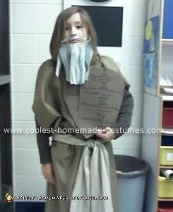 Homemade Moses Costume
