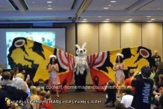 Homemade Mothra Costume