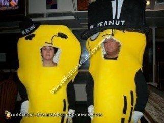 Mr. and Mrs. Peanut DIY Couple Costume