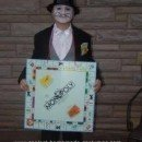 Homemade Mr. Monopoly Costume