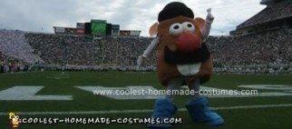 Homemade Mr. Potato Head Costume