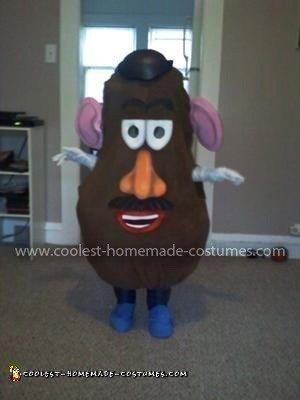 Coolest Mr. Potato Head Costume