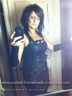 Homemade Mrs. Scissorhands Costume