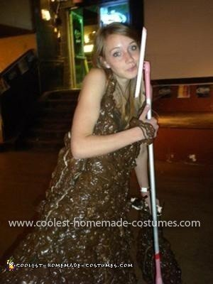 Homemade Mud Costume from Swiffer Wet Jet Commercial