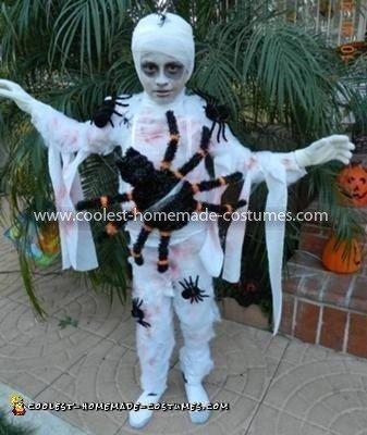 Coolest Mummy Spider Webbed Costume 27