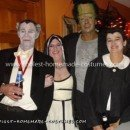 Homemade Munsters Group Costume