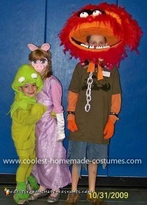 Homemade Muppets Group Costumes