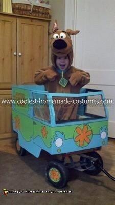 Homemade Mystery Machine Costume