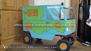 Coolest Mystery Machine Costume