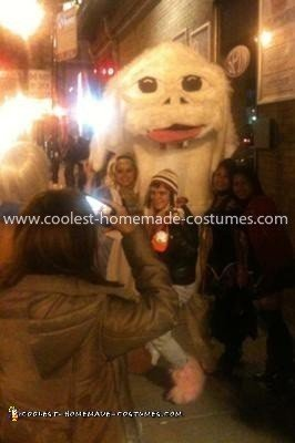Coolest NeverEnding Story Couple Costume - (One of the many photo opps for Falkor on the streets of Chicago)