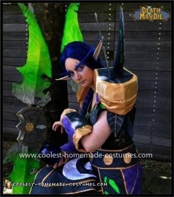 Homemade Night Elf from World of Warcraft Costume