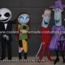 Coolest Nightmare Before Christmas Group Costumes 73
