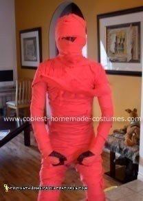 Homemade Ninja Mummy Costume
