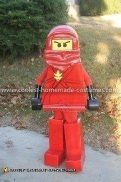 Coolest Ninjago Lego Minifigure Costume
