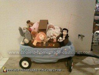 Homemade Noah's Ark Baby Costume
