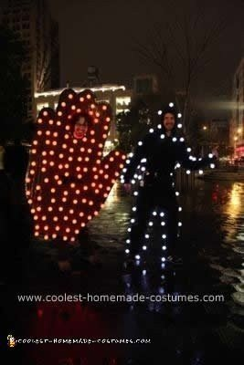 Coolest NY Pedestrian Crosswalk Sign Couple Costume
