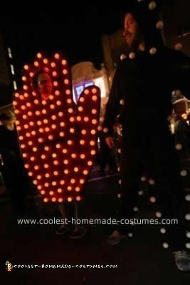 Homemade NY Pedestrian Crosswalk Sign Couple Costume