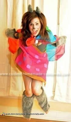 Homemade Nyan Cat Costume