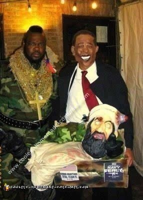 Homemade Obama Osama Costume