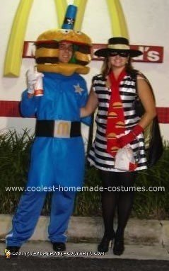 Officer Big Mac and Hamburglar Costume