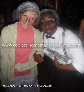 Homemade Old Couple Costume