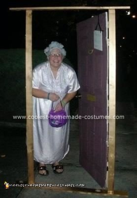 Old Lady Giving Out Candy Costume