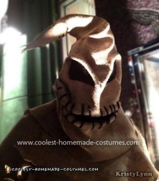 Homemade Oogie Boogie Costume