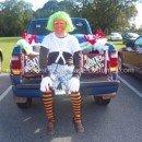 Coolest Oompa Loompa Adult Homemade Costume