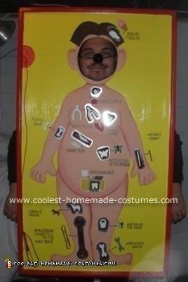 Homemade Operation Game Costume