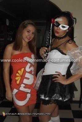 Coolest Orange Crush Pop Can Costume 22