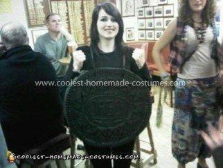Homemade Oreo Cookie Costume