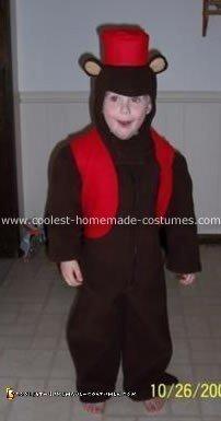 Organ Grinder Monkey Costume