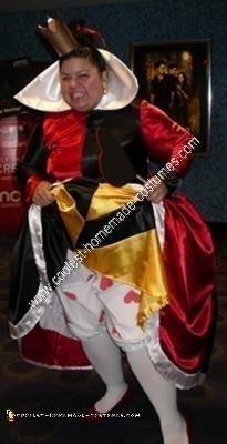 Homemade Original Disney Queen of Hearts Costume