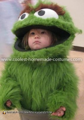 Coolest Oscar The Grouch Child Costume