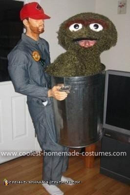 Homemade Oscar the Grouch Costume