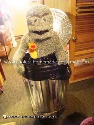 Coolest Oscar the Grouch Costume 7