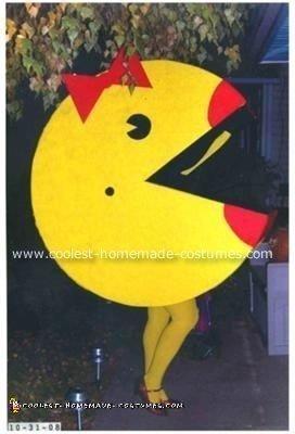 Ms. Pacman Halloween Costume