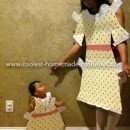 Coolest Paper Doll Costume and Baby Paper Doll Costume