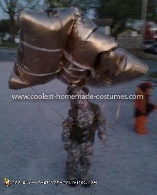 Homemade Paratrooper Costume
