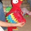 Homemade Parrot Costume