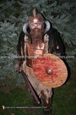 Homemade Pathfinder Viking Costume